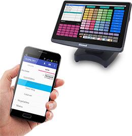 Uniwell Phoenix handheld order terminals
